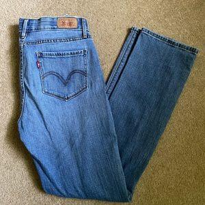 Women's Levi 525 Straight Leg Jeans